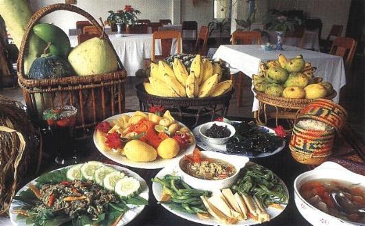LA GASTRONOMIE LAOTIENNE - Cuisine laotienne